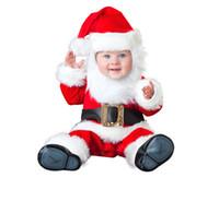 baby foot design - Baby Jumpsuit Newest Christmas Footed Romper Design Kids Bodysuit with Santa Baby Reindeer Rascal Santa s Elf Snowman type