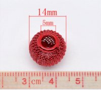 Wholesale 50 Mixed Mesh Spacer Beads Fit Charm Bracelet x12mm Beads Cheap Beads Cheap Beads