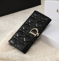 Wholesale Hot new fashion womens wallet Casual womens PU leather Purse for gift