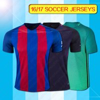 away barcelona jersey - 2016 barcelona soccer jersey messi jersey neymar jr shirt thai barcelona soccer jersey barcelona home away third soccer jerseys