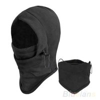 Wholesale Hot Sale Thermal Fleece Balaclava Hood Police Swat Ski Bike Wind Winter Stopper Face Mask For Skullies Beanies NVG