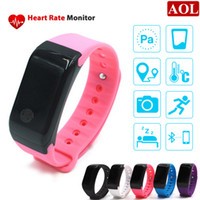 atmospheric pressure - Newest Foreign X7 Smart Bracelet Heart Health Monitoring Devices With Bluetooth Atmospheric Pressure Test Altitude Monitor Wristband Watch