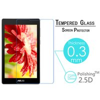 asus hd tablet - H Tempered Glass For Asus ZenPad C Z170C Z170CG New HD D Anti Shatter Tablet Screen Protector Film Protective LCD Guard