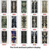 Wholesale Men and Women s Seamless Tattoo Sleeve Outdoor Riding Sun Arm Sleeve Tattoo Arm Sleeve