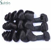 Acheter Extensions de cheveux humains tisse-Top Grade 8A Cheveux Humains Vente en gros Malayisan Loose Wave Qualité Cheveux Extensions Livraison gratuite aux Etats-Unis