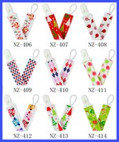 Wholesale 2016 style Baby pacifier folder baby pacifier chain to prevent cotton size cm