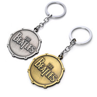 antique metal toy cars - The Beatles Shield Round Toy Keychain Metal Key Chain Pendant Keyring Key Ring For Man s Boys