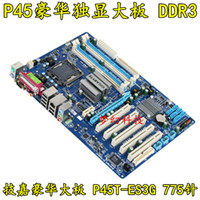 amd ga - original motherboard for Gigabyte GA P45T ES3G LGA DDR3 RAM G Desktop mainborad
