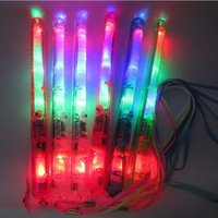 atmosphere concert - 2000PCS CM Colorful LED Flashing Glow Light Stick Blink Lively Atmosphere Maker For Party Bar Deco Concert Cheer Free DHL M120