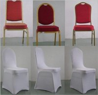 Wholesale 100 Universal Stretch Polyester Spandex Wedding Party Chair Covers for Weddings Banquet Hotel Decoration Decor