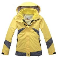 Wholesale Brand High Quality Women s in1 Double Layer Climbing Sports Coat Winter Outdoor Waterproof Skiing Jacket
