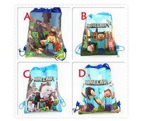 Cheap HOT ITEM Storage bag Drawstring bags Non-woven shopping bag Cartoon Backpack Draw String Sling Bag Gift Bag Party Supplies