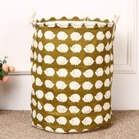 Wholesale Large Folding Cloth Waterproof Laundry Basket for Washing Dirty Clothes Storage Basket Toys Organizer