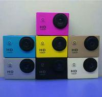 achat en gros de vidéo complète-SJ4000 1080P Casque Sports DVR DV Vidéo Cam Cam Full HD DV Action étanche caméra sous-marine 30M caméra multicolore, gratuitement DHL