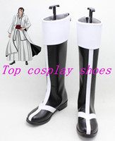 accessories ulquiorra cosplay - Bleach Aizen Sousuke Ulquiorra cifer Grimmjow Jeagerjaques Broken Mask Arrancar Cirucci Thunderwitch Cosplay Boots Shoes