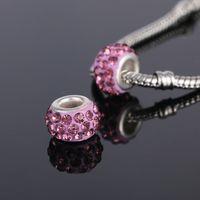 Wholesale New Arrival colours Alloy Charm safety DIY Bead Fits European Pandora Charm Bracelets Necklaces