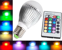 Wholesale 10W LED RGB Magic Lamp Puzzle Lights Color Changing Color Choice LED Lights with IR Remote Control from China