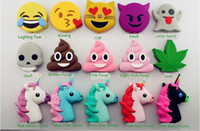 Wholesale 2600mAh Power Bank Poop Ghost Tear Kiss Cat Devil Little Spirit Leaf Power Bank Treasure Emoji Mobile Power Charge Treasure Soft Universal M