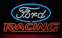 american shopping stores - NEON SIGN For FORD AMERICAN AUTO RACING Custom Store Lighting Display Beer Bar Pub Club Lights Signs Shop Decorate Real Glass Tube Bulbs