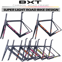 bicycle headset sizes - New products BXT Di2 Carbon Road Bicycle Frame Size mm Super Light Frame Fork headset color carbon bike frame