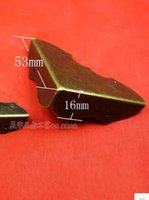 antique bread boxes - 2 C048 antique light bread angle iron angle right angle box hardware diy retro angle plate