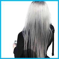 Wholesale 100ML Hair Color Cream Light Grey Color Permanent Super Hair Dye Non toxic Personalized Color for DIY Hair Style Cream Light Free Shiping