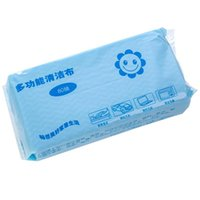 Wholesale Brand New Multipurpose Non woven Fabric Nonstick Wiping Rags House Cleaning Cloth Kitchen Dish Dishcloth Package FG091106