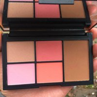 Wholesale 2016 New copy N rs Virtual Domination Cheek Palette Makeup Blush Highlighters Concealer Colors Cosmetic Palette