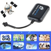 Wholesale Mini GPS GPRS GSM Tracker Car Vehicle SMS Real Time Network Monitor GPS Tracking Device Retail