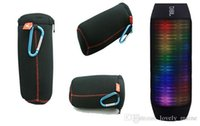 bags portable speakers - Retail Travel Carry Flip Zipper Sleeve Portable Protective Box Case nylon Cover Bag for JBL Charge2 Wireless Bluetooth Speaker