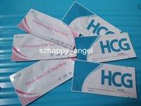 Wholesale High Sensitivity mIU ml Pregnancy Test HCG Strip Ovulation Test LH Strip with