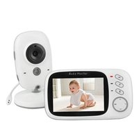 Wholesale VB603 Way Talk Talkback Night Vision inch LCD Wireless Security Video Baby Monitors
