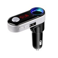 Wholesale Car Cigarette Player - Car Bluetooth MP3 Player Car Charger with Dual USB Charging port support cigarette lighter & SD card playing