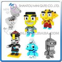 bender toys - DHL Mini Qute LOZ Bender Smurfs Chinese Vampire Toilet plastic building block brick model Action Figures educational toy