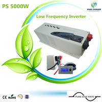 ac solar pump - 5kw Power Inverter LCD Display Low Frequency dc v to ac v Pure Sine Wave w Solar Pump Inverter