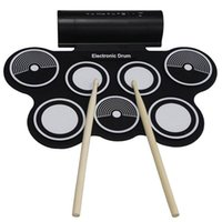 Wholesale KONIX Portable Roll Up USB MIDI Electronic Drum MD759