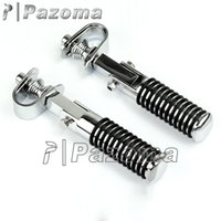 Wholesale PAZOMA High Quality Universal Chrome Motorcycle O Ring Foot Peg Collapsible mm mm quot to quot Highway Bars Hot