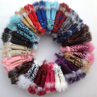 Wholesale Fashion Women Rabbit Hair Suede Fingerless Gloves Women Winter Gloves Ladies Gloves Colors Drop Shipping
