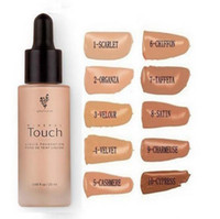 Wholesale Hot Item Unique Touch Mineral Liquid Foundation Professional Makeup Foundation Waterproof Face Concealer Liquid Colors