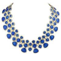 Wholesale Mixed Of European Major Suit Clavicle Chain Exquisite Women s Necklace Necklaces Blue Online Jewelry