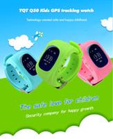 Dispositifs portables intelligents Prix-Q50 GPS Tracker Montre pour les enfants SOS Anti-perte de bracelet Perdu Bracelet Communication bidirectionnelle Smart Phone App Détecteur de dispositifs portables OLED