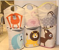 basket for toys kids storage - Hot sale best quality folding laundry basket dirty clothes storage basket for toy for kids cm x56cm x cm