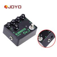 Wholesale Joyo Dr J D Electric Guitar Effect Pedal High gain True Bypass Design Guitar Pedal Retail