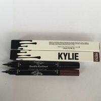 Wholesale Kylie Double Eyeliner Waterproof Black and brown in Kylie Pencil Eyeliner Makeup tool by Kylie Jenner Cosmetics