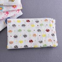 Wholesale Newborn Aden Anais Muslin Baby Blankets Multifunctional Baby Swaddle Blanket Bath Towel Cotton Infant Bedding Sleeping Wraps VT0362