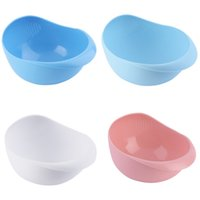 Wholesale Plastic Vegetables Basin Wash Rice Sieve Fruit Bowl Fruit Basket Kitchen Gadget Promotion