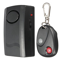 Wholesale 120dB alarm sound Remote Control vibration wireless alarm for Door Window home alarm security systems