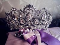 unique hair accessories - Sparkling Princess Rhinestones Bridal Tiaras Crystal Crown Charming Wedding Accessories Unique Bridal Head Pieces CPA265