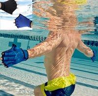 aqua gear - Gear Swim Gloves Aquatic Fitness Water Resistance Training Aqua Fit Webbed Gloves Neoprene Diving Gloves for Adults Webbed Glove KKA676