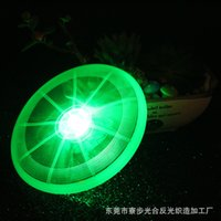 Wholesale New sports toy pet dog pet supplies LED luminous Frisbee colors optional support for mixed batch cm in diameter ZD033C